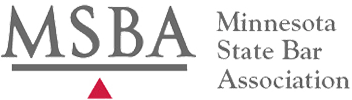 Logo Recognizing Wagner Law, LLC's affiliation with the Minnesota State Bar Association