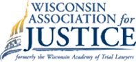 Logo Recognizing Wagner Law, LLC's affiliation with Wisconsin Association for Justice